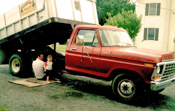 Old Martin Landscape Delivery Truck